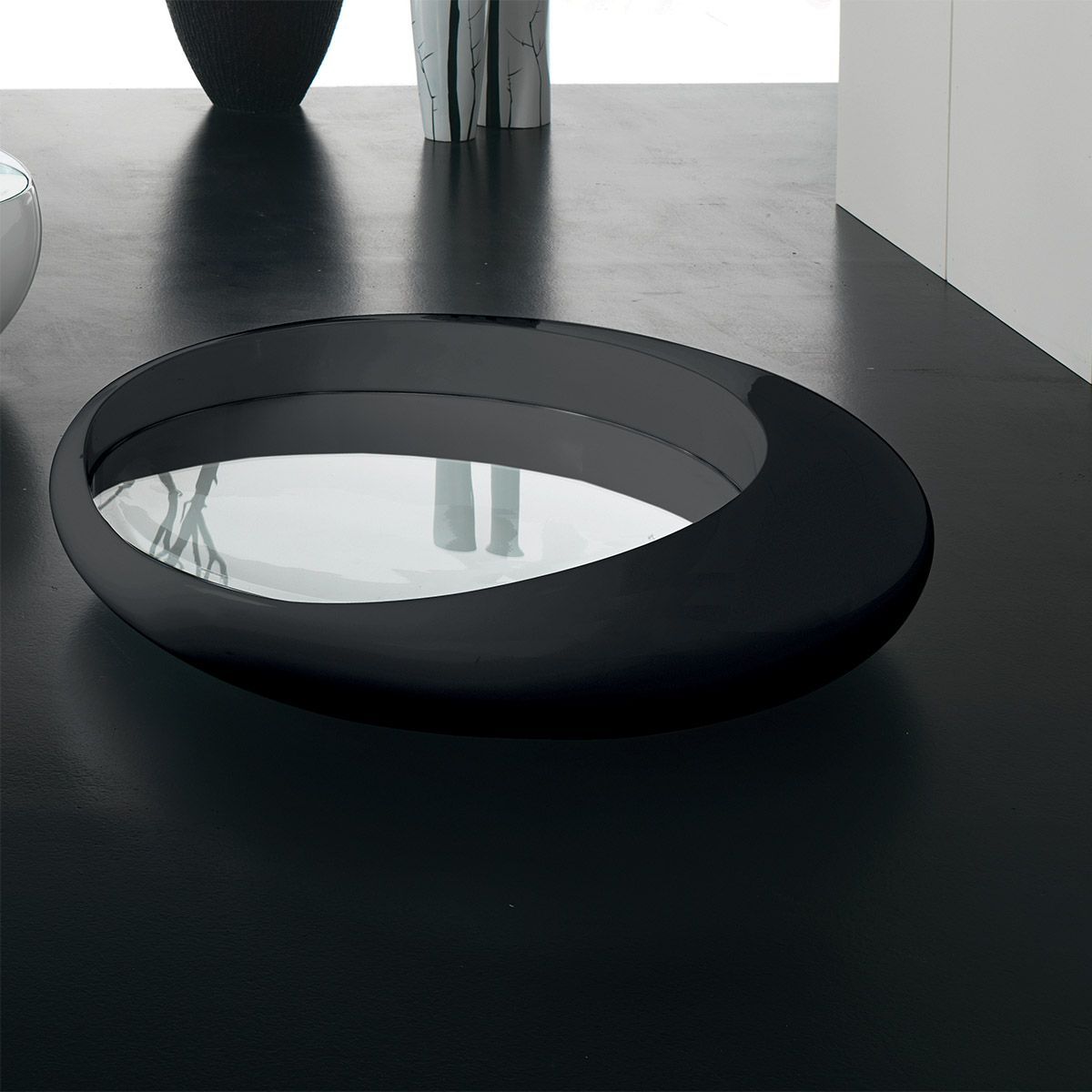 Italian Design Coffee Tables Modern Organic Shape Coffee Table In Italian Contemporary Design