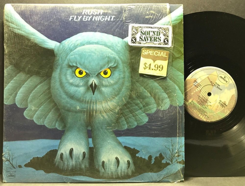 Rush Fly By Night Mercury Srm 1 1023 In Shrink Lp Vinyl Record Album Vinyl Record Album Lp Vinyl Vinyl Records