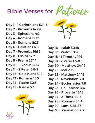 Do you find your patience running thin with your husband, kids, coworkers or general life stress? Use these Bible Verses for Patience - 30 Day Bible Reading Plan by The Holy Mess to grow in faith. #bible #scripture #faith