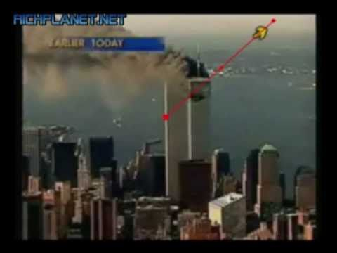 9 11 CONSPIRACY THE BALL NEXT TO TOWER 2