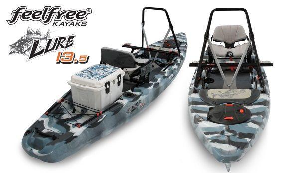 Feelfree Lure 13 5 Fishing Kayak Announced Fishing