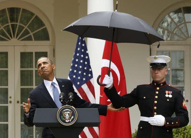 President Obama Makes U S Marine Break Military Rules By