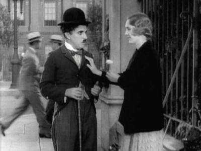 Charlie and Virginia Cherrill in City Lights