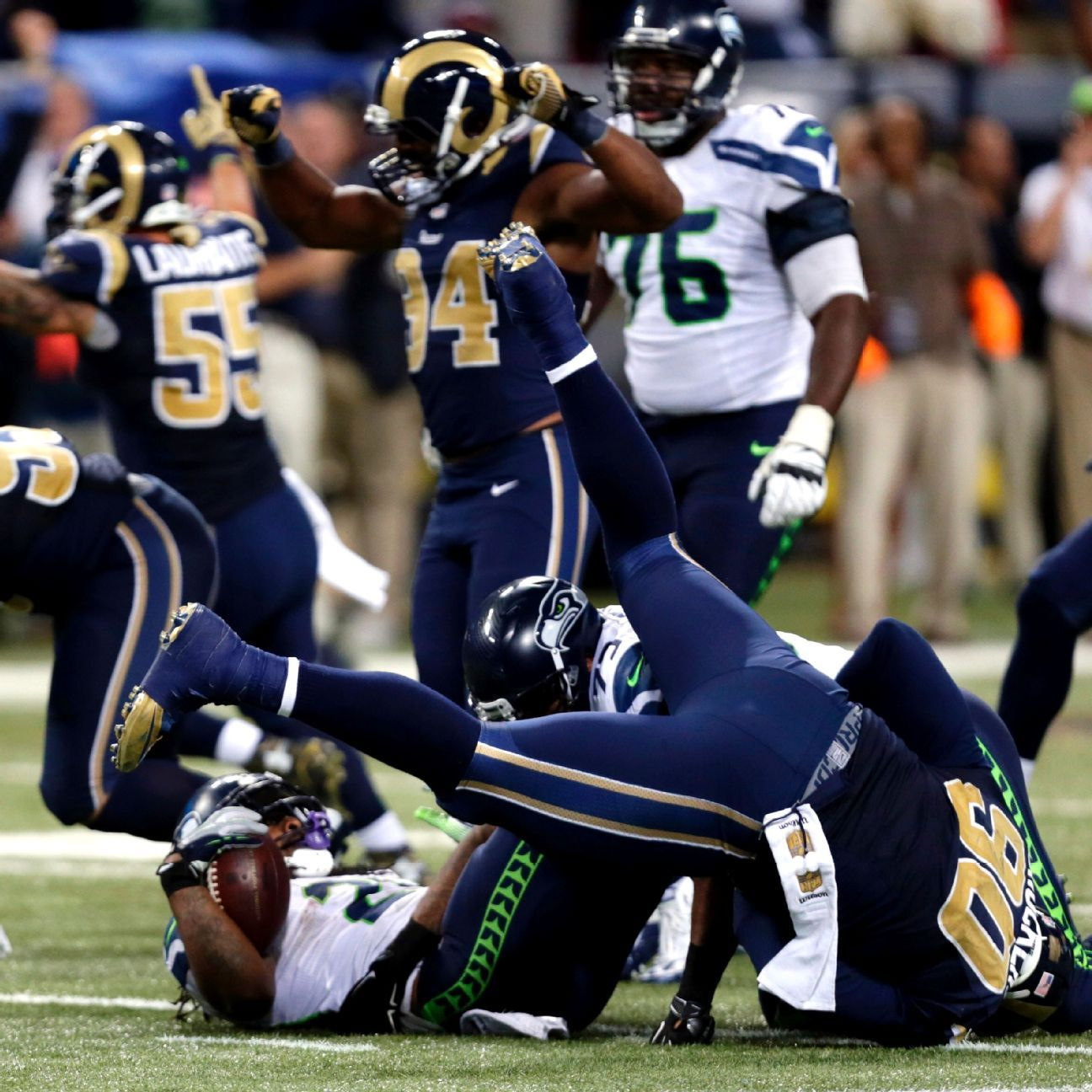 Rams' Brockers said he knew Seahawks were going to give Marshawn Lynch the ball