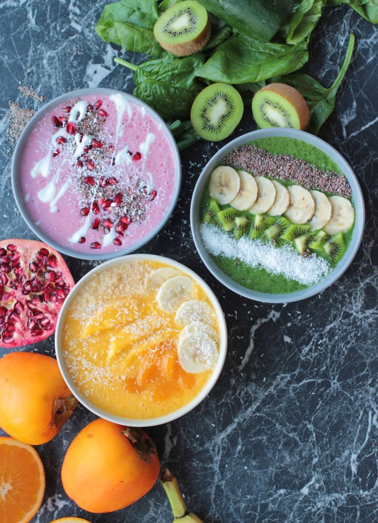 Photo of With these smoothie bowls you can make it through the winter healthy