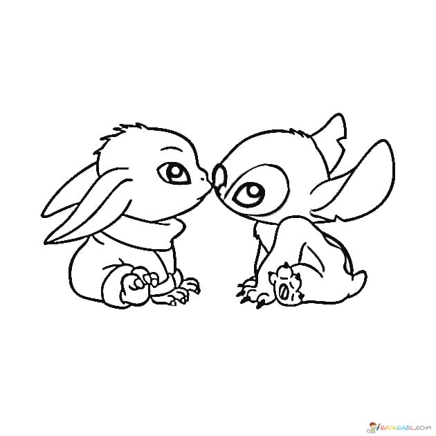 Coloring Pages Baby Yoda The Mandalorian And Baby Yoda Free Cute Coloring Pages Coloring Pages Stitch Coloring Pages