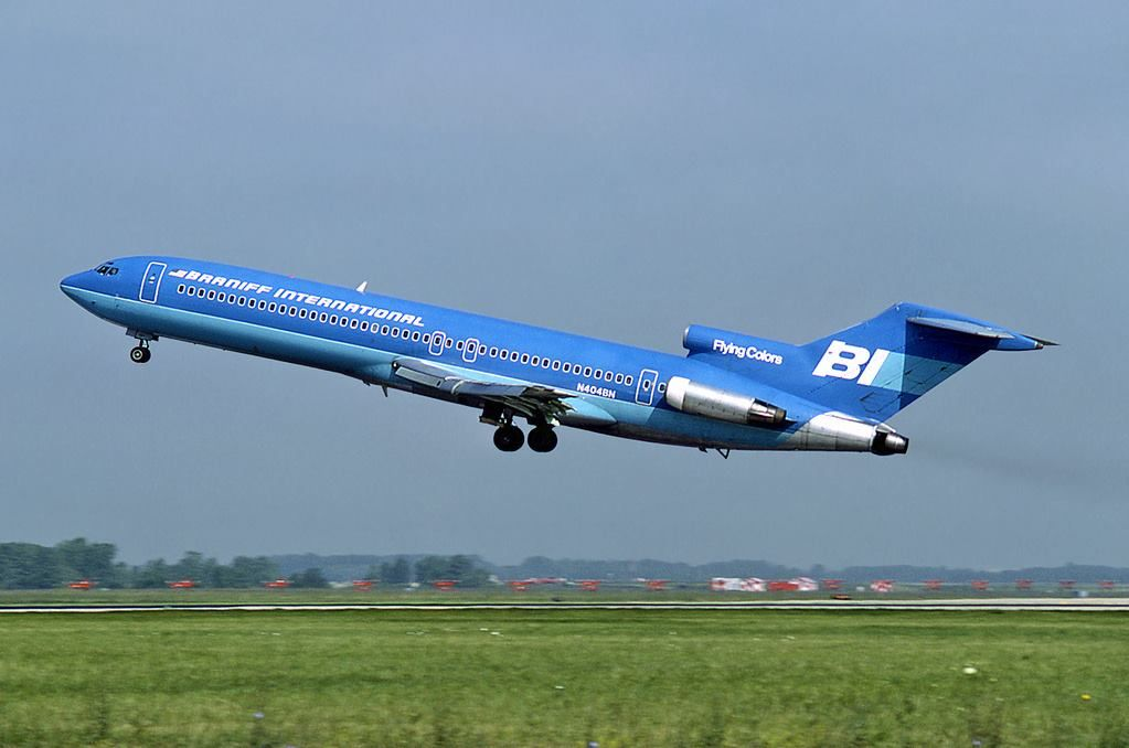 Pin by Den14 on Braniff Boeing 727, Boeing aircraft