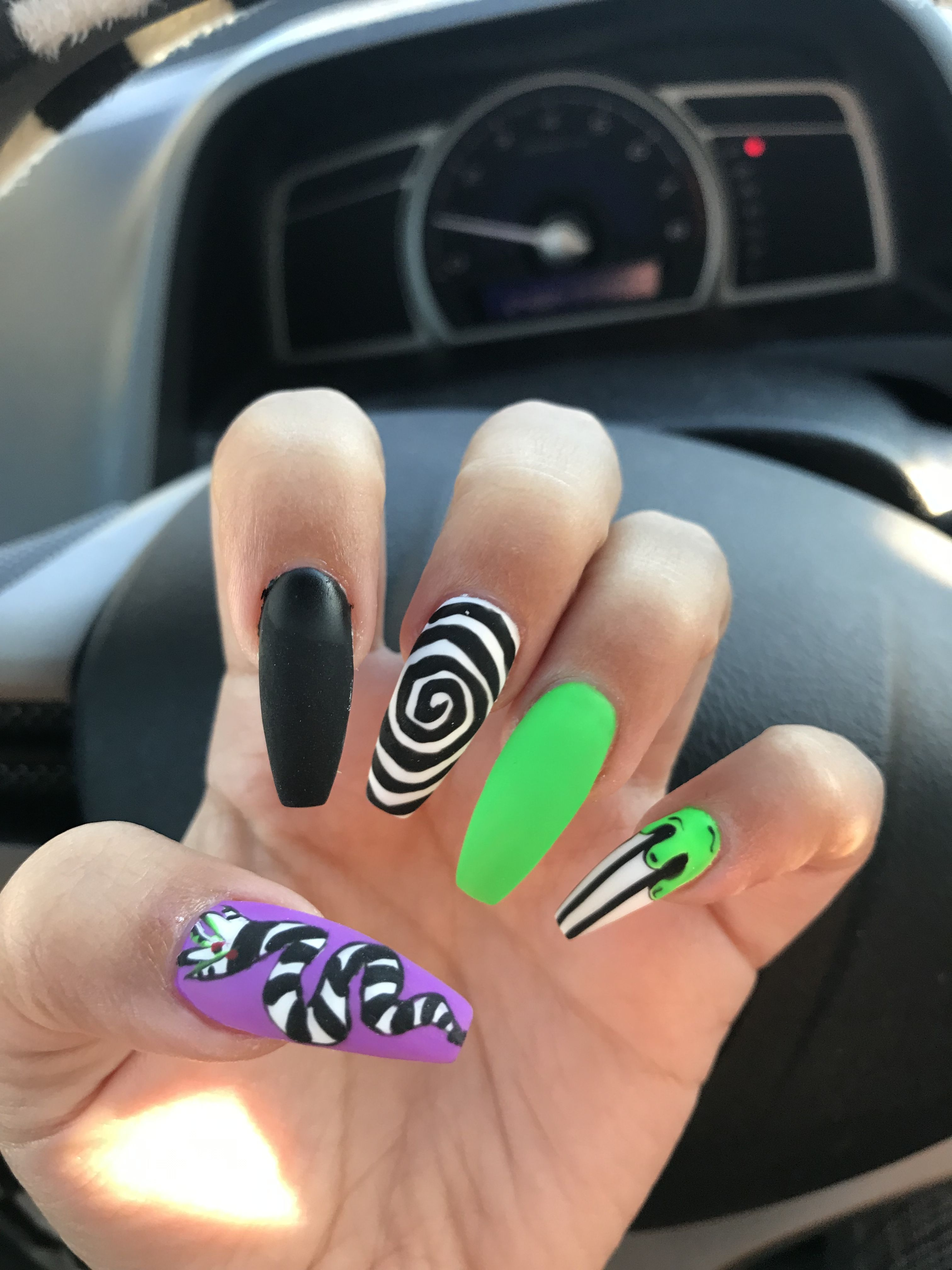 Pin by Andrea Zamudio on Nail inspo | Coffin nails, Nails ...