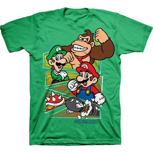 Nintendo Super Mario Boys 39 Graphic Tee Boys