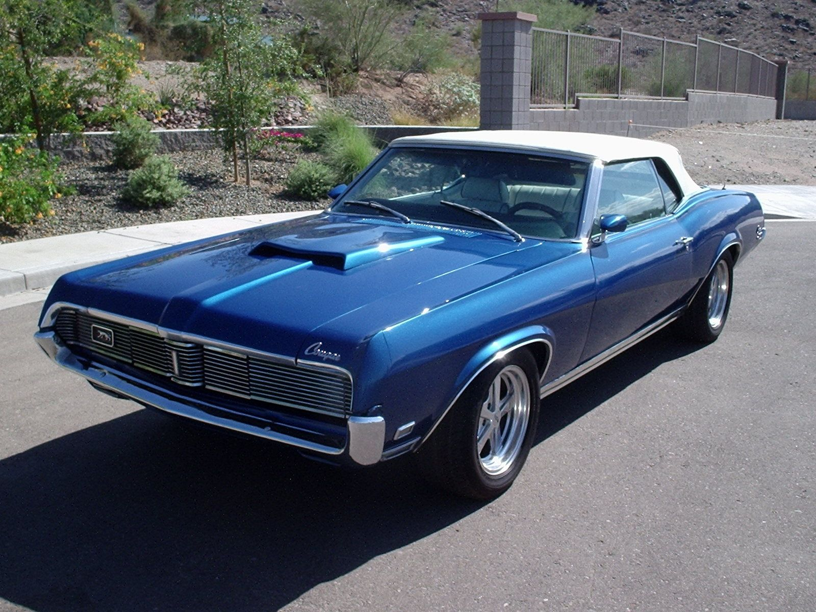 1969 Mercury Cougar XR 7 convertible   Mercury Cougar 1967 70     1969 Mercury Cougar XR 7 convertible