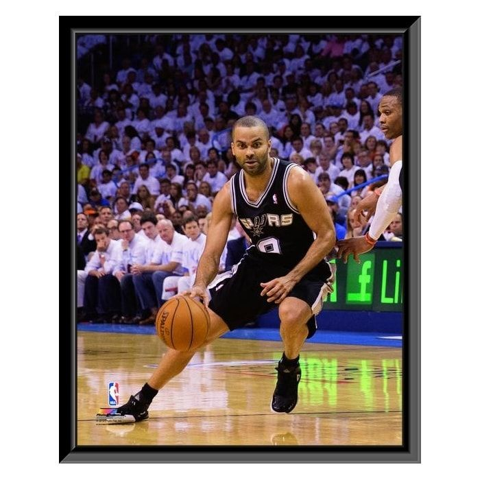 Tony Parker Of The San Antonio Spurs Drives In Game 6 Of