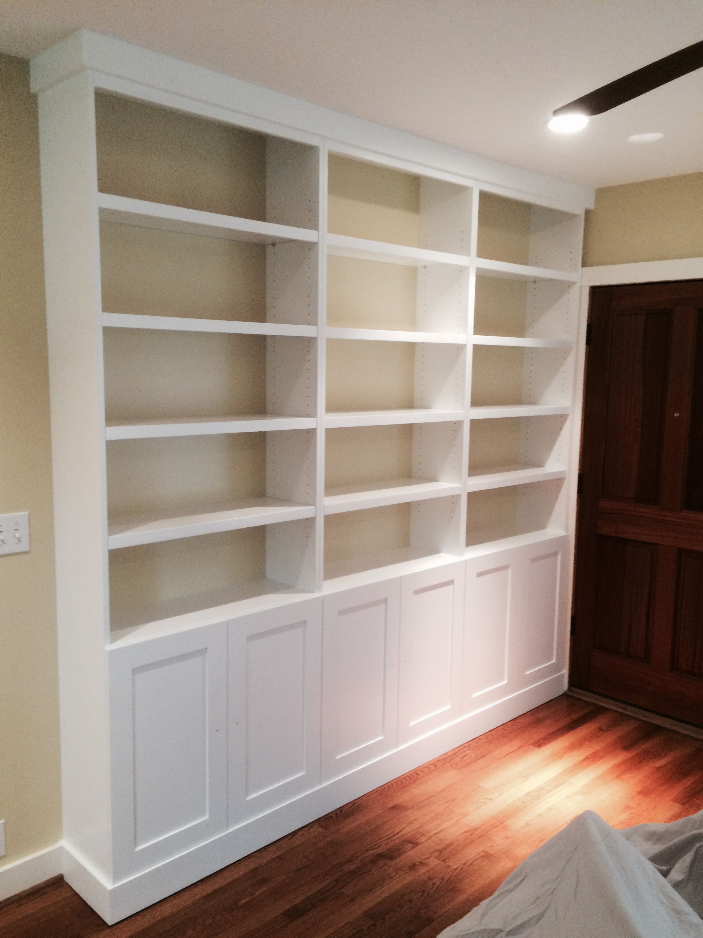 Woods Cabinets Llc Made This Custom Built In Shelving