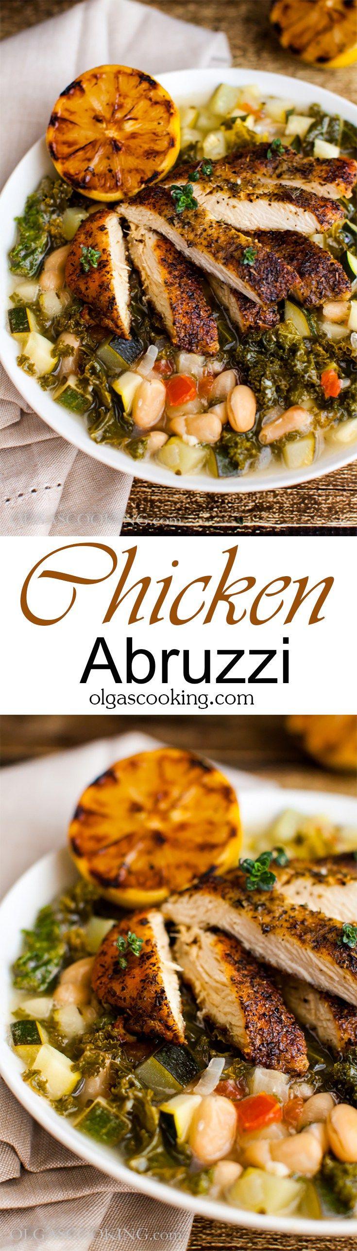 Chicken Abruzzi | Recipe | Olive gardens, Copycat and Delish