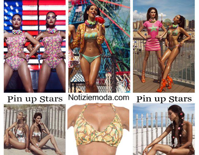 Costumi Da Bagno Bikini 2014 : Moda mare pin up stars estate 2015 costumi da bagno bikini bikini