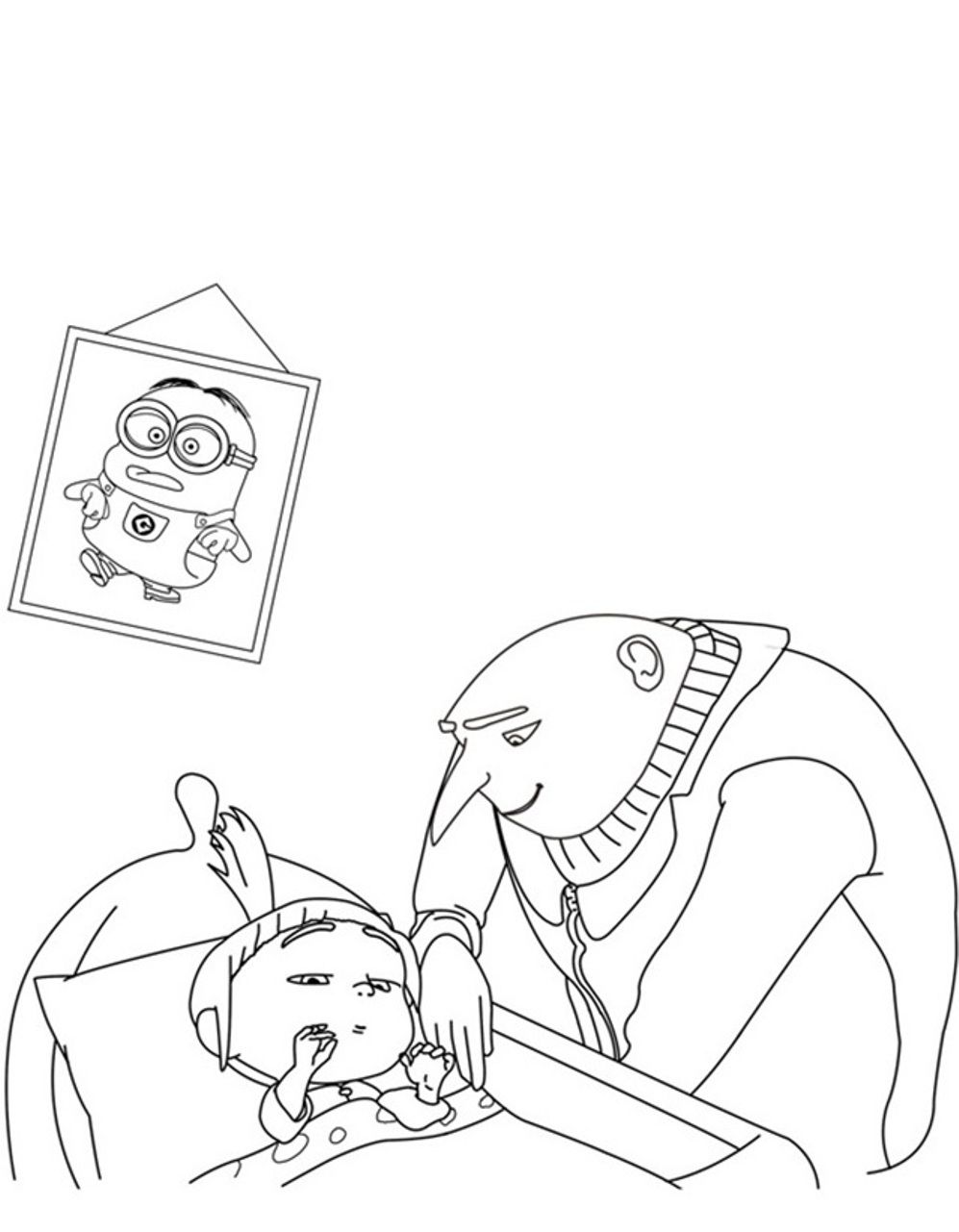 despicable me coloring pages - Buscar con Google | ALL THINGS MINION ...
