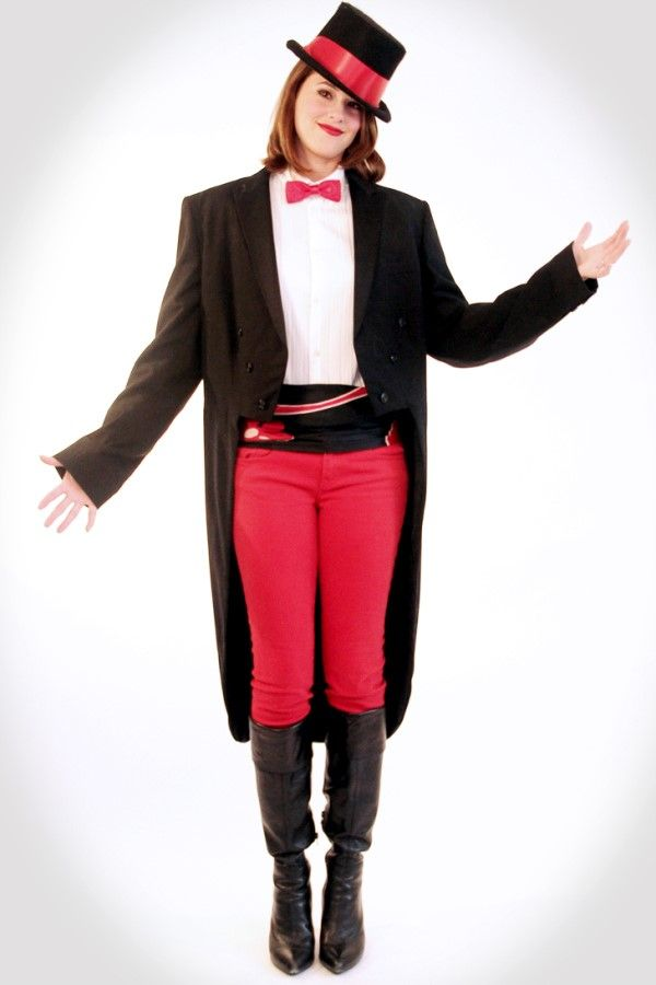 these red pent and black coat halloween costumes for cheap plus size are perfect for ladies - Size 26 Halloween Costumes