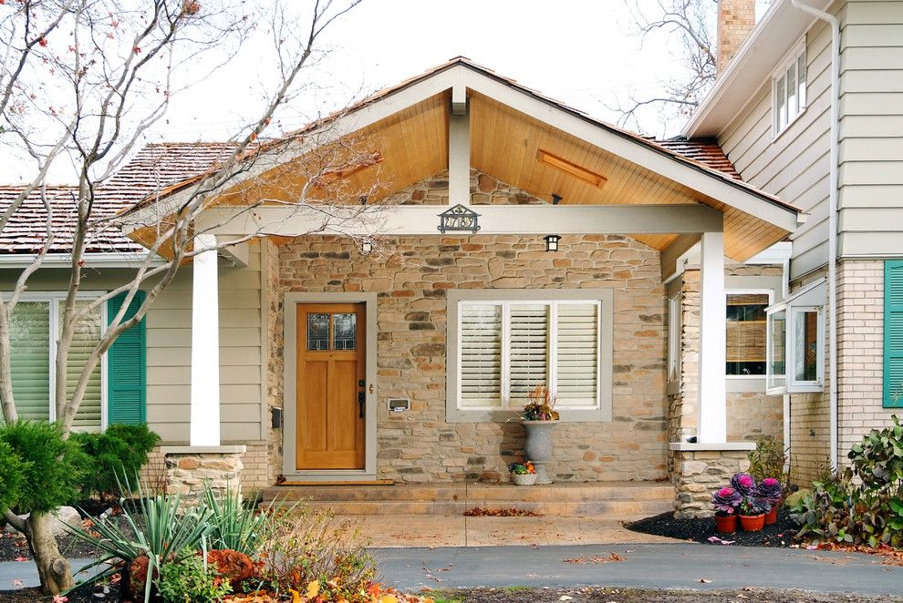 Astonishing Front entry porch exterior traditional with