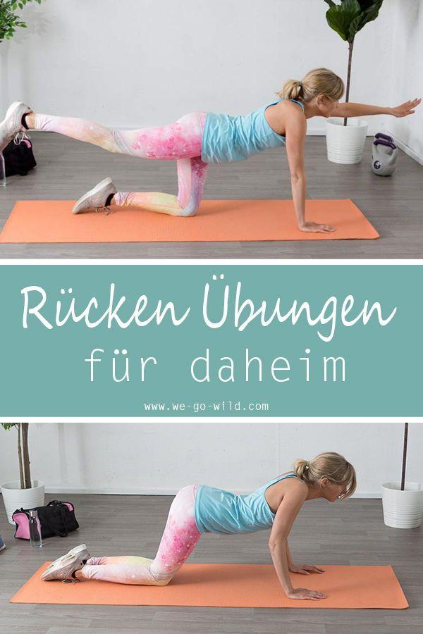 24+ 9 Lendenwirbel Übungen gegen Schmerzen im Rücken