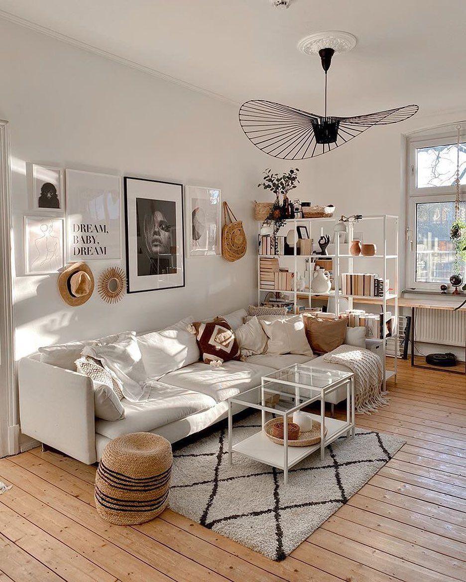 """IKEA Deutschland on Instagram: """"Boho Stimmung im Wohnzimmer #zuhausebei @katha.strophal. #IKEAregram #SÖDERHAMN #meinIKEA • • #ikea #dekoliebe #inspiremehomedecor…"""""""