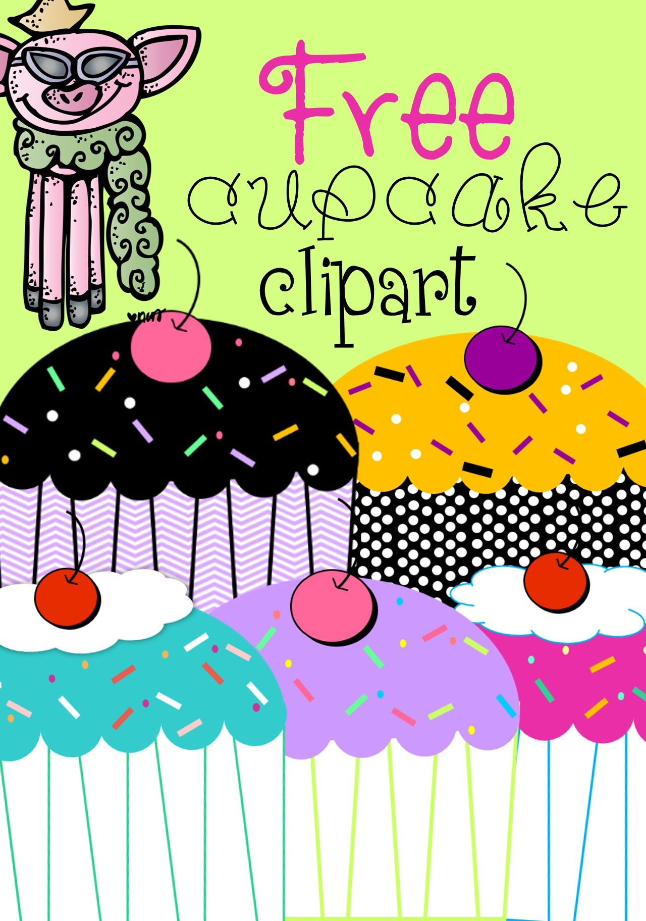 small resolution of free clipart 5 cupcakes 300 dpi freebie clipart