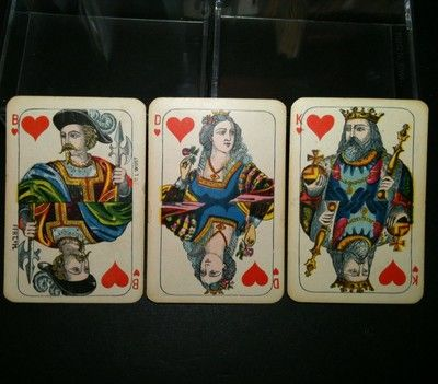 1900s C L WÜST Playing Cards