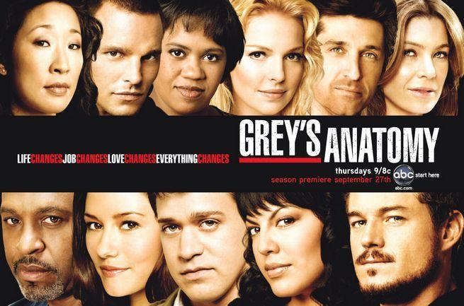 Grey\'s Anatomy. I\'m a faithful follower! | TV Series | Pinterest ...