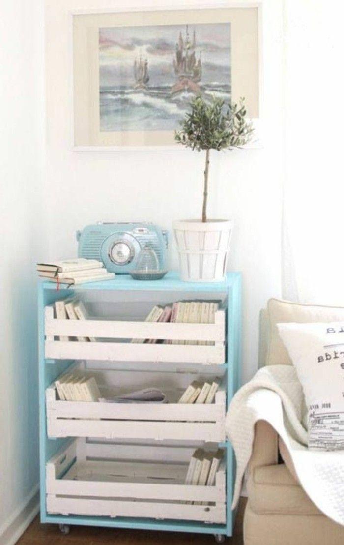▷ 1001+ ideas para hacer muebles con palets fáciles   Mesita de ...