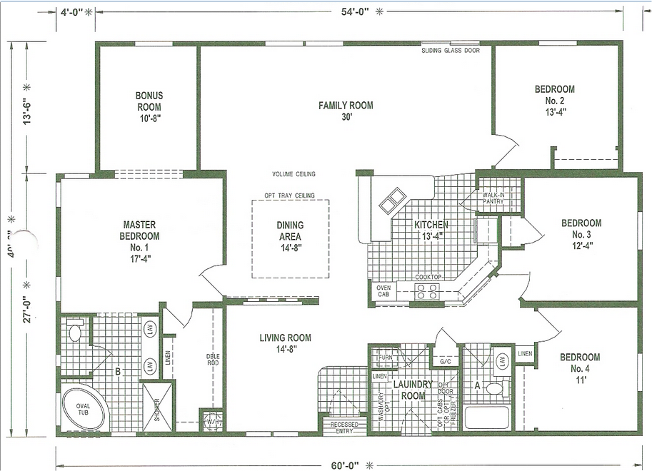 Mobile Home Floor Plans Triple Wide | Homes | Pinterest