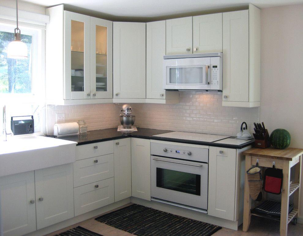 Corner Ikea Kitchen As Wells As Glamorous Kitchen