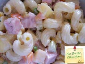 Ham Pineapple Pasta Salad Recipe, how to make ham pineapple pasta