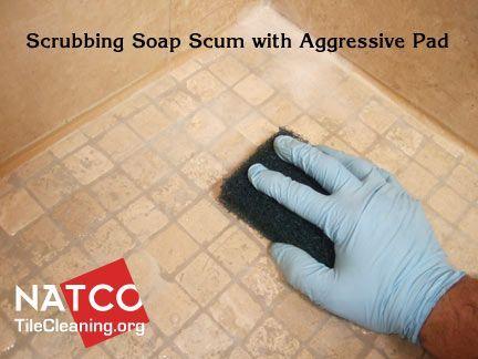 Cleaning Travertine Shower Floor