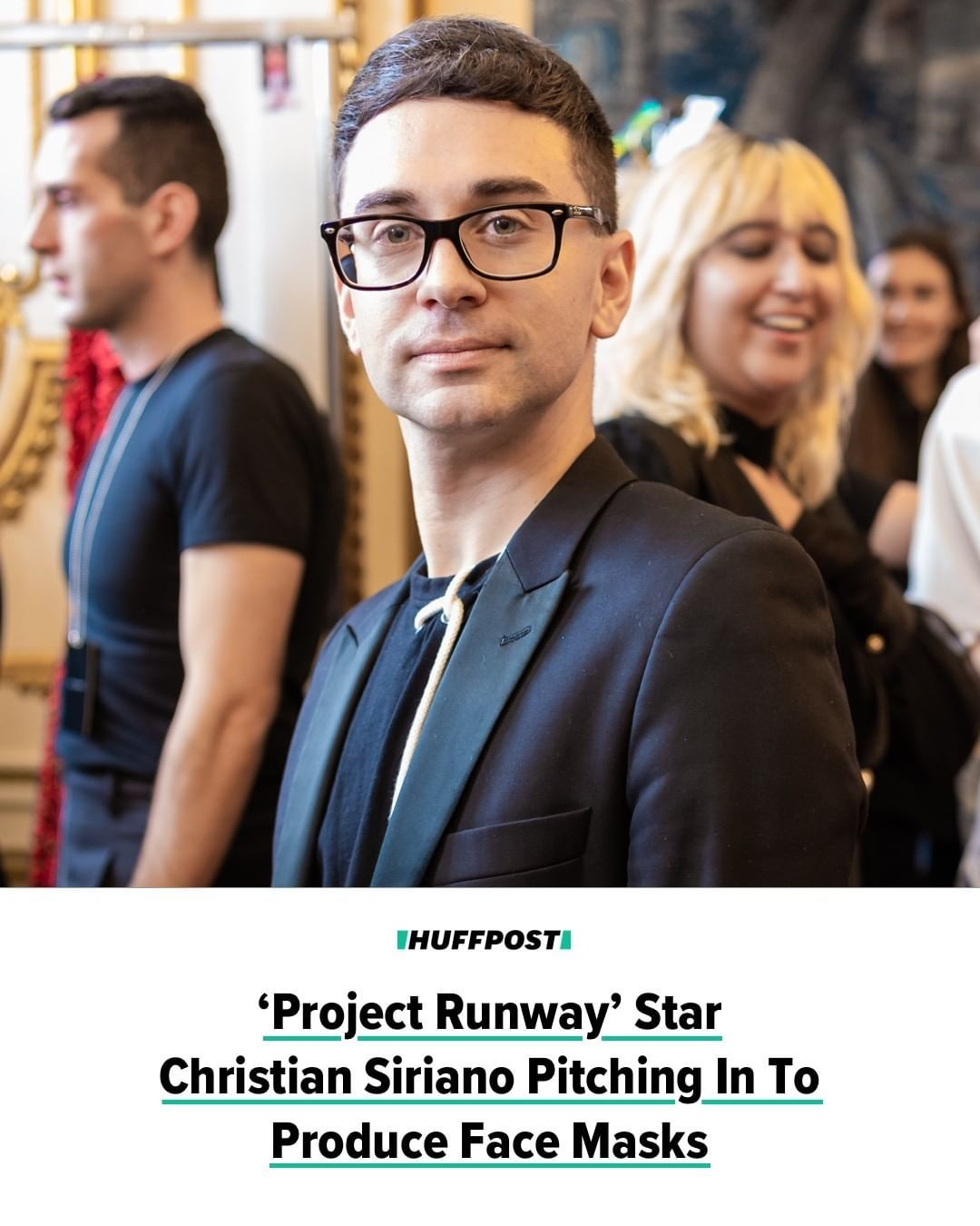 Huffpost On Instagram So Important Project Runway Star And Fashion Designer Christian Siriano Is Working Wit In 2020 Christian Siriano Christian Fashion Design