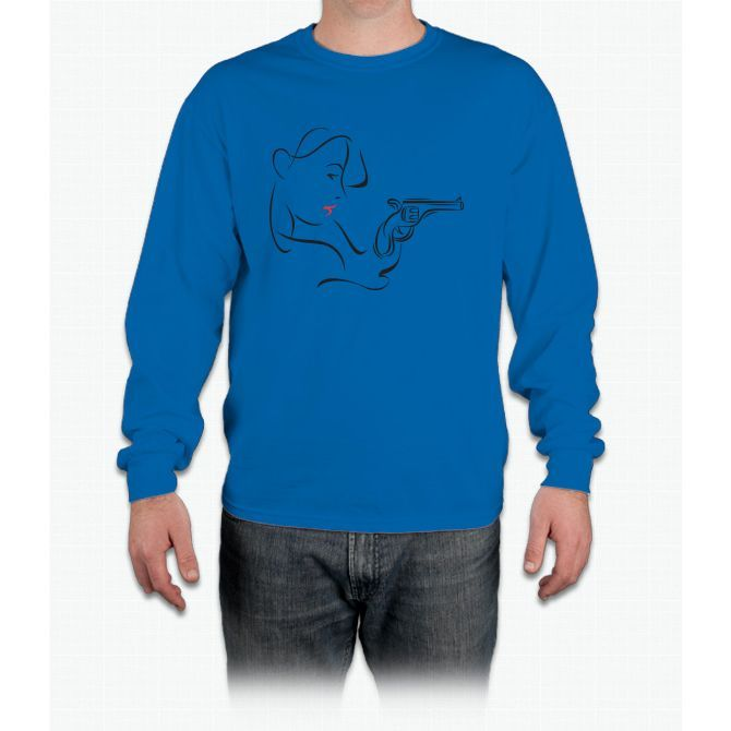 Squiggle T Long Sleeve T-Shirt
