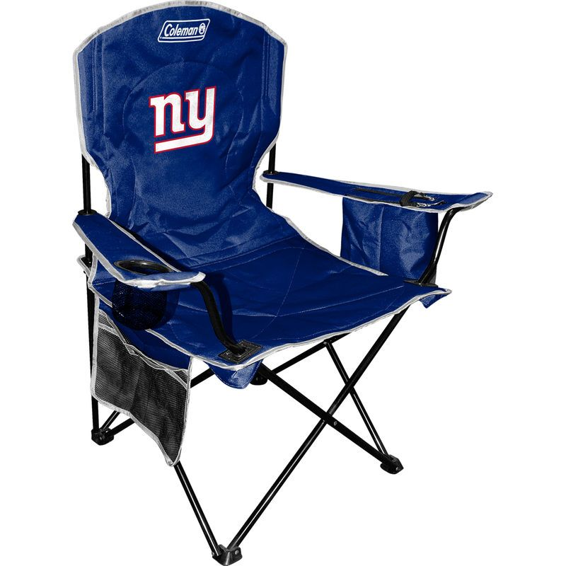 coleman cooler quad chair target blue arm chairs new york giants royal products