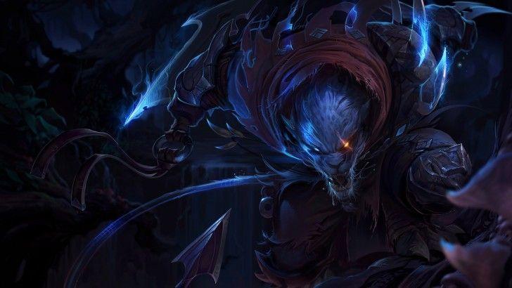 Rengar Splash Art Night Hunter Uhd 8k 7680x4320 League Of Legends Legend Images Lol League Of Legends