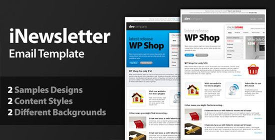 40 Free HTML Email Newsletter Templates | Free and Useful Online ...
