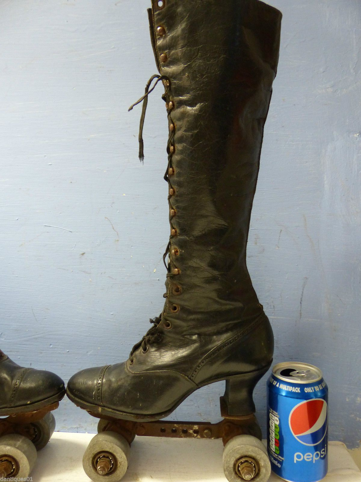 Roller skate shoes in sydney - Details About Good Early Pair Of Ladies Roller Skates Leather Boots Extremely Rare L K