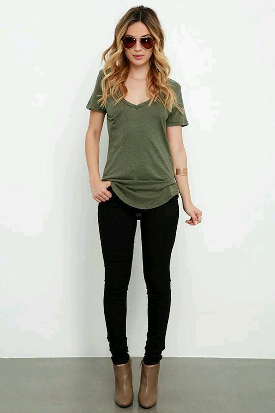 6 Ways to Rock the Army Green Color