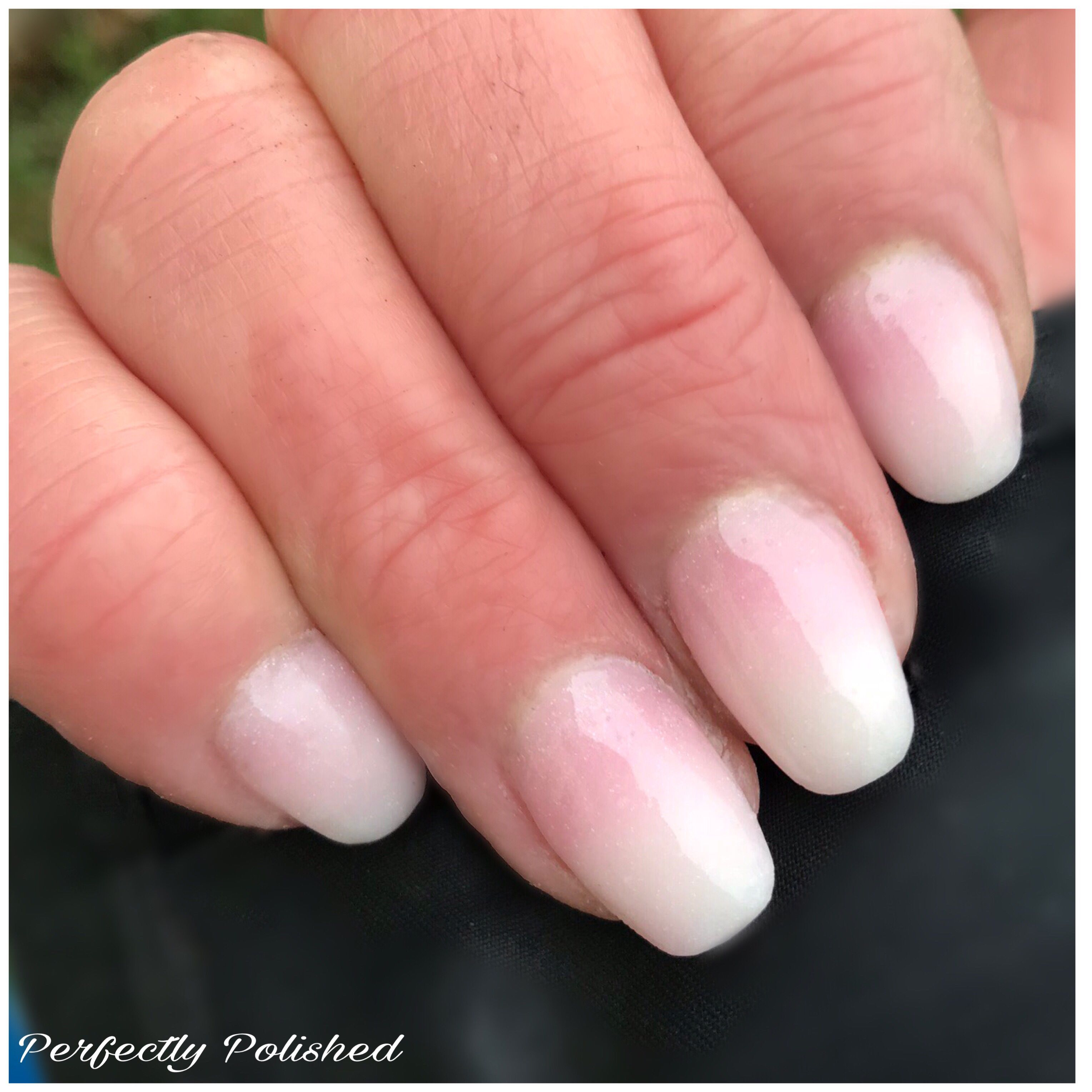 Baby Boomer Nails Using Nail Puttie Acrygel From Femmefatalenails