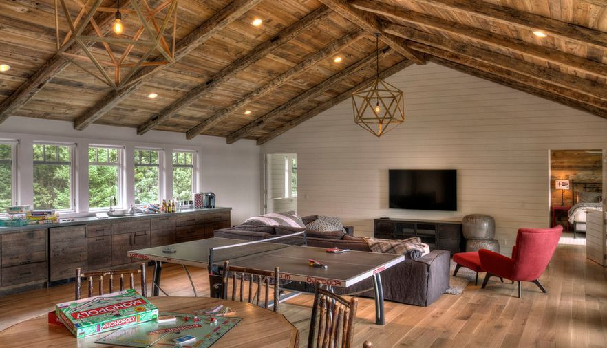 Https Www Homedit Com Vaulted Ceilings Look Like In Modern Architecture Bonus Room Design Bonus Rooms Vaulted Ceiling Bedroom