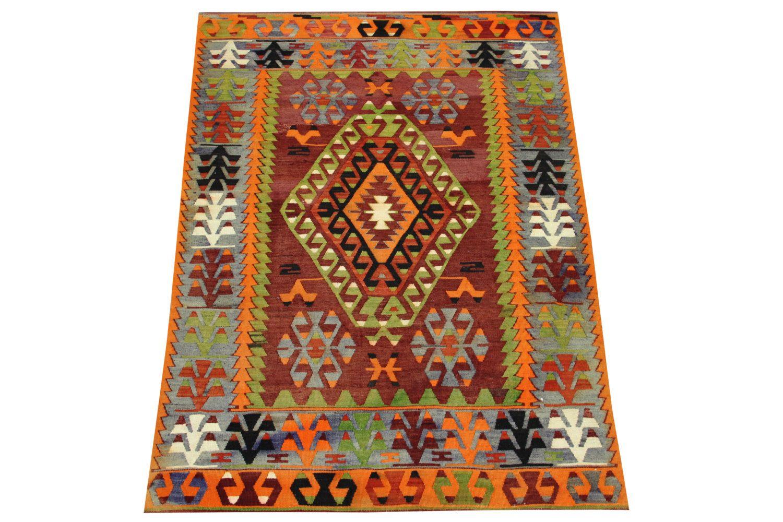 Turkish Antique Kilim Rug 5,9 x 4,0 Feet Handwoven Kilim Rug Patterned Kilim Rug  Natural Kilim Rug Ethnic Kilim Rug  Y-1407 by kilimwarehouse on Etsy