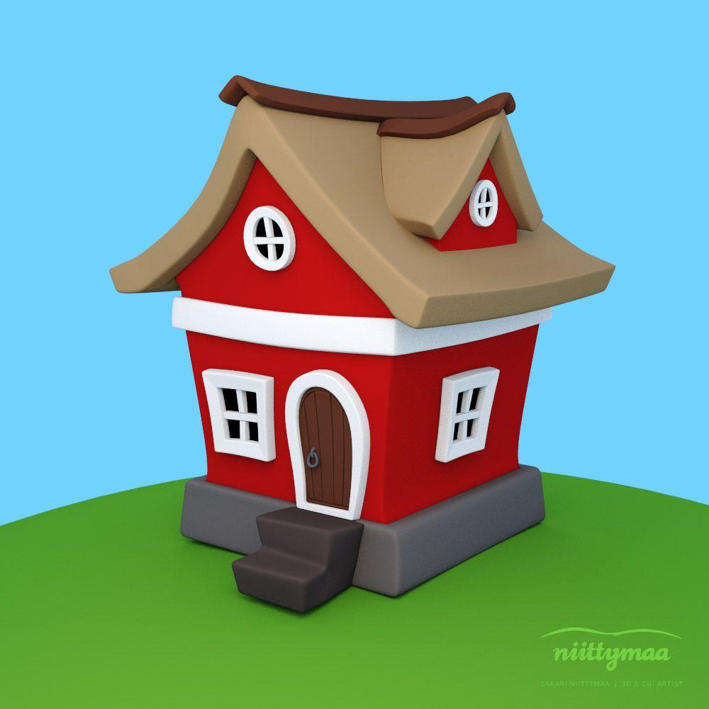 House design cartoon - Cartoon House_test Rend Jpg Image Jpeg 1000 1000 Pixels