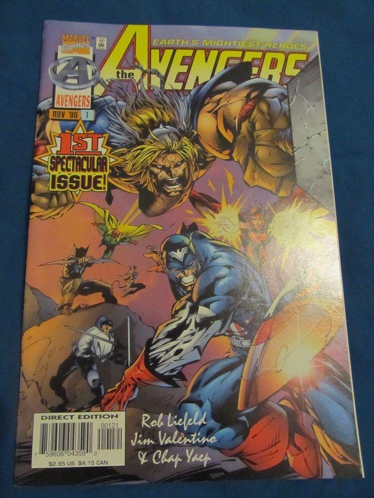 Avengers #1 1st Spectacular issue! NM-= (Nov 1996, Marvel)