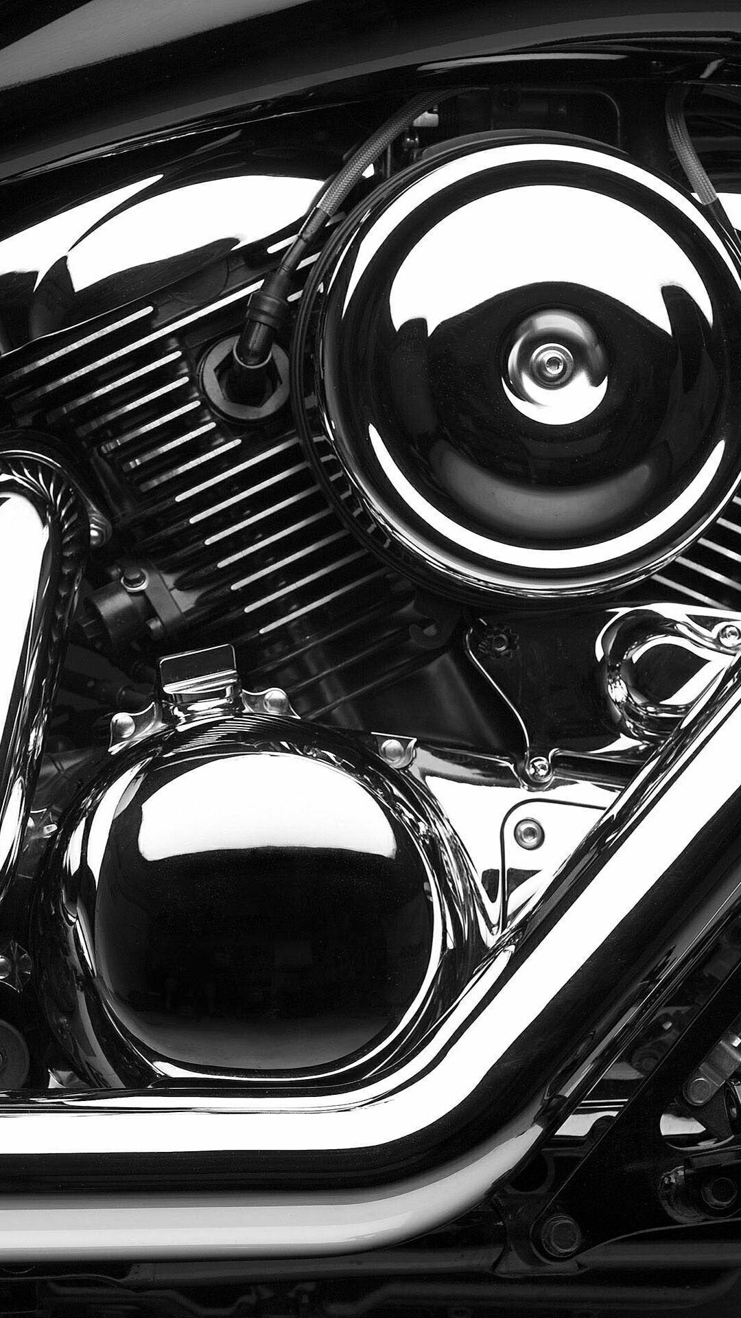 Wallpaper Mesin Motor 3d