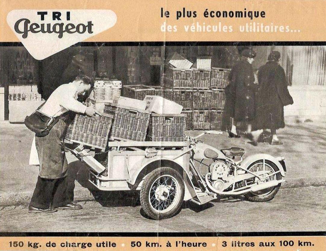Publicité triporteur Peugeot   Peugeot france, Peugeot, Motorcycle posters
