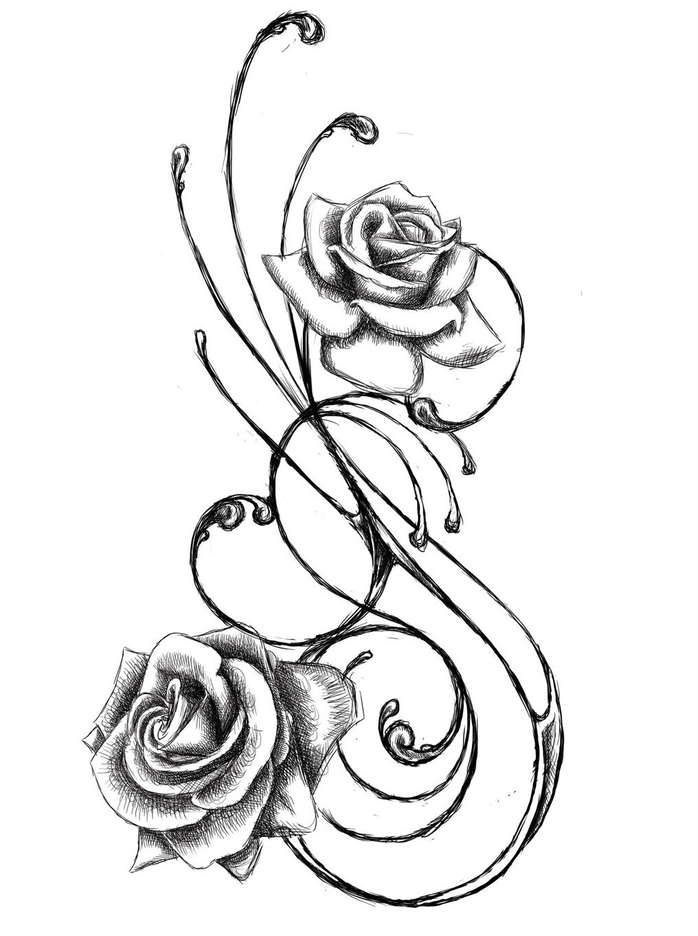 Flower Tattoo Design - see more designs on http://thebodyisacanvas.com
