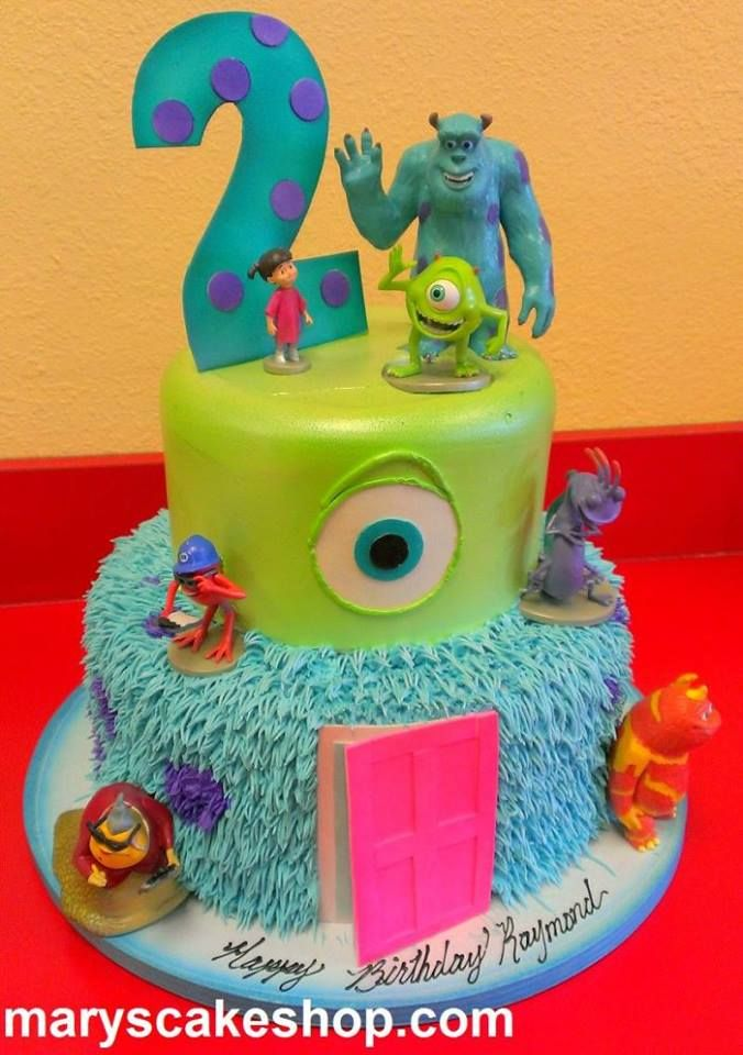 Monsters Inc Cakes Pinterest Monsters Cake and Birthdays