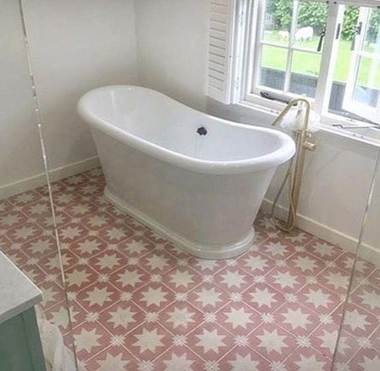Bert Bathroom Stall perfect pink pradena encaustic tiles from bert and may! | bert and