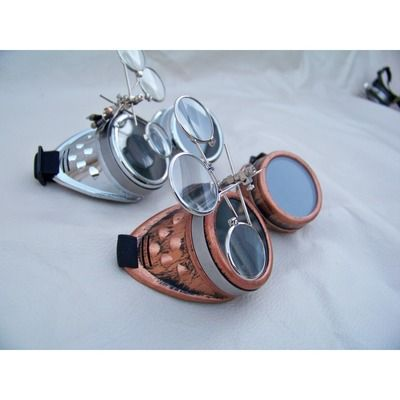 Basic Steampunk Goggles