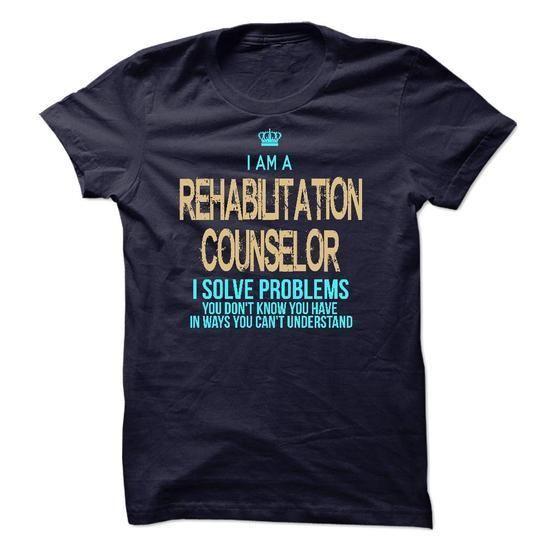 I Am A Rehabilitation Counselor T Shirts, Hoodies Sweatshirts. Check price ==► https://www.sunfrog.com/LifeStyle/I-Am-A-Rehabilitation-Counselor-42091520-Guys.html?57074